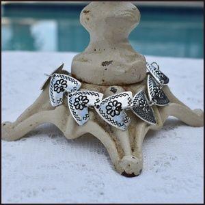 Jewelry - ✔️  Beautiful Silver Heart Bracelet